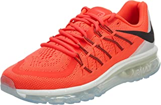 Nike Men's Air Max 2015, Bright Crimson/Black-Summit White, 10 M US