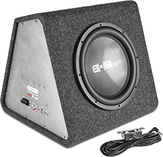 """Belva BSAP112 660W Max Single 12"""" Powered Vented Subwoofer Enclosure with a Built-in Class D Amplifier photo"""