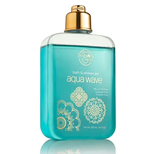 Body Cupid Aqua Wave Shower Gel - No Sulphate and Paraben, 250 ml