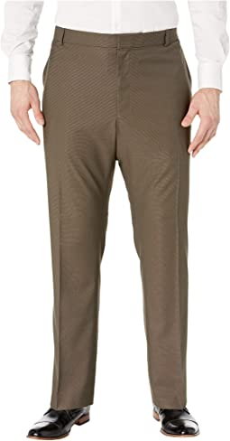 Big & Tall Classic Fit Non Iron Performance Nailhead Dress Pants