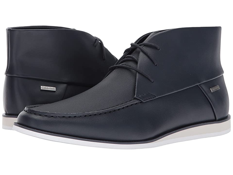 Calvin Klein Kenley (Dark Navy Brushed Leather) Men