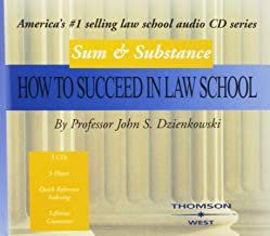 Sum and Substance Audio on How to Succeed in Law School