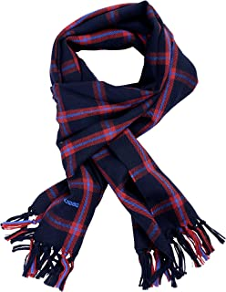 Dsquared2 100% Wool Plaid Scarf