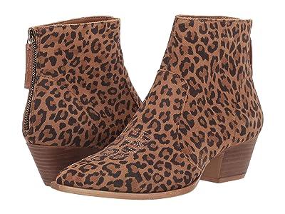 Dingo Klanton (Leopard Suede) Cowboy Boots