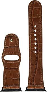 Piel Frama Armband Case for Apple Watch 42 mm - Crocodile Brown