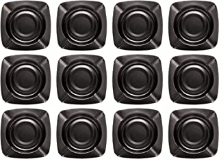 OFXDD Modern Decorative Cigarettes Ashtray - Pack of 12 - House Mens Cigar Tray - Unique Stainless Ashtrays for Outdoor - ...