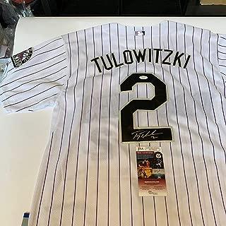 Troy Tulowitzki Signed Autographed Majestic Colorado Rockies Jersey WIth JSA COA