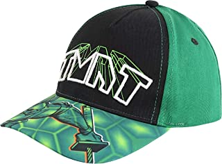 Nickelodeon Toddler Little Hat for Boy's Teenage Mutant Ninja Turtles Kids Baseball Cap, Green, Ages 4-7