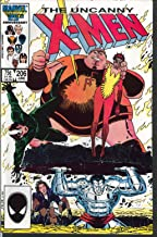 UNCANNY X-MEN #206 Marvel comic book 6 1986