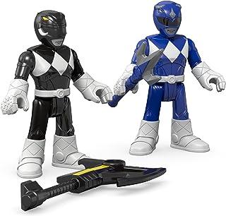 Fisher-Price Imaginext Power Rangers Blue Ranger & Black...