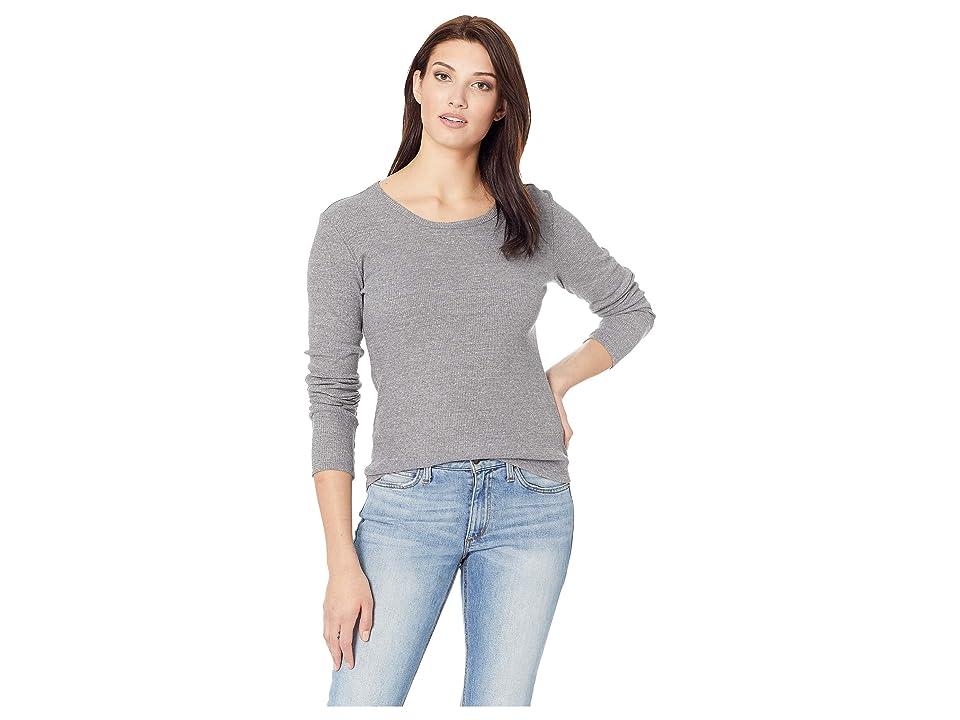 Alternative Eco Rib Long Sleeve Keepsake (Eco Grey) Women