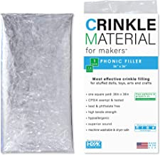 Crinkle Paper Plastic Film | 1 Sq Yard - Commercial Grade Crinkle - Add Texture & Noise to Toys | Noise Making Crinkle Cri...