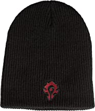 JINX World of Warcraft: Warlords of Draenor Horde Knit Beanie, Black, One Size