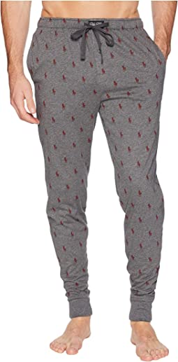 Knit Covered Waistband Jogger Pants