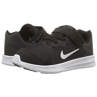 Nike Kids Downshifter 8 (Infant/Toddler) (Black/White/Anthracite) Boys Shoes