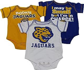 Baby Southern University SU Jaguars Rookie 3 Piece Creeper Set