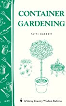 Container Gardening: Storey Country Wisdom Bulletin A-151 (Storey Publishing Bulletin, A-151)