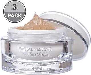 پوست حاوی مواد معدنی دریای مرطوب و پودر پوسته مهره ای و پوست های چرب پوستی پوستی بی نظیر | پوست مرطوب پوست شما با استفاده از این ژل پوستی (بسته 3)
