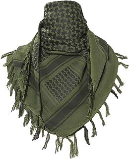 TACVASEN Tactical Desert Shemagh Keffiyeh Arab Tessel Scarf Wrap