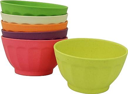 Preisvergleich für Zuperzozial Dessertschalen Set 6 Stück XL Rainbow