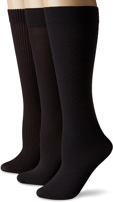 No Nonsense Women's Wardrobe Trouser Sock 3-Pack