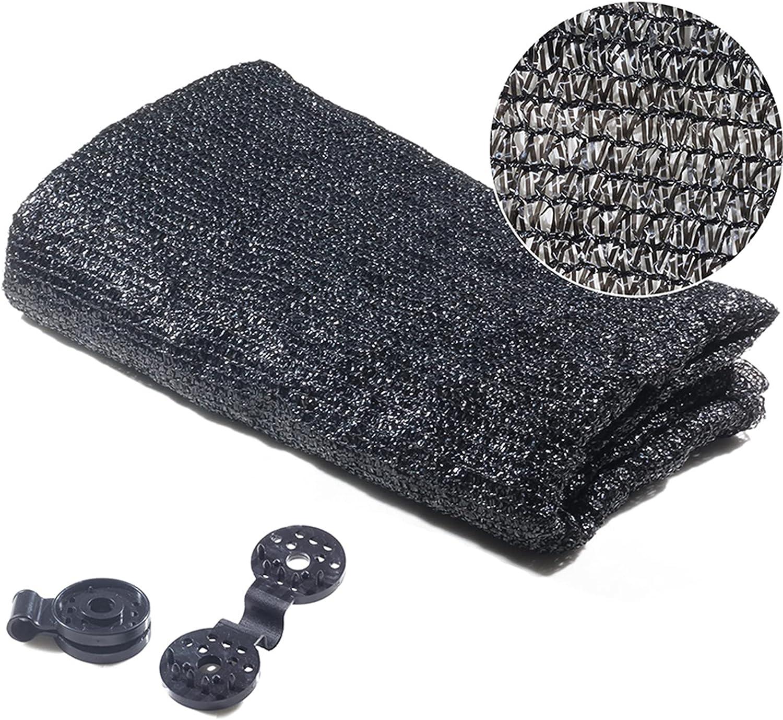 Outlet SALE QWERU SALENEW very popular! 40% Sunblock Shade Cloth Cover Sun UV Black Mesh Resistan