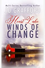 Winds of Change: A Sweet, Inspirational, Small Town, Romantic Suspense Series (Heart Lake Book 1) Kindle Edition