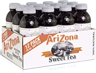 Arizona Tea | Premium Brewed Sweet Bottled Tea | 12-Count | 16-Ounce