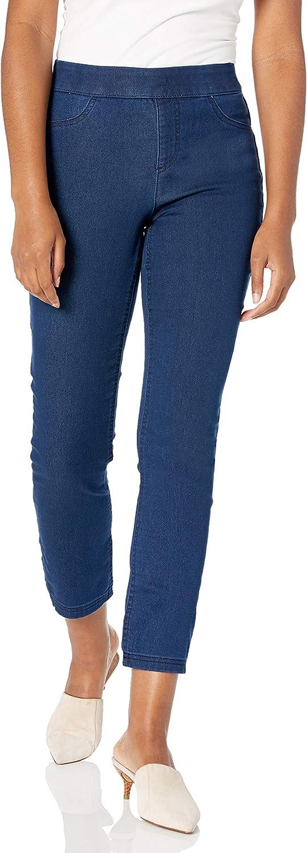 Erika Women's Joey Pull on Slim Straight Leg Pant
