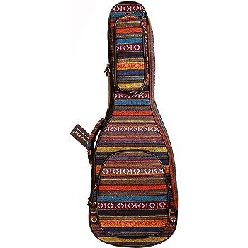 funda suave para guitarra MUSIC PRIMER dise/ño original 15 mm de grosor estilo campestre Guitalele funda de guitarra de viaje bolsa de guitarra Mini Guitarra Producto de moda.