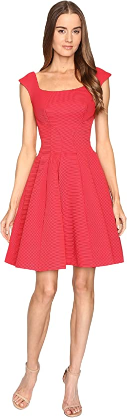 Sleeveless Ottman Fit and Flare Dress