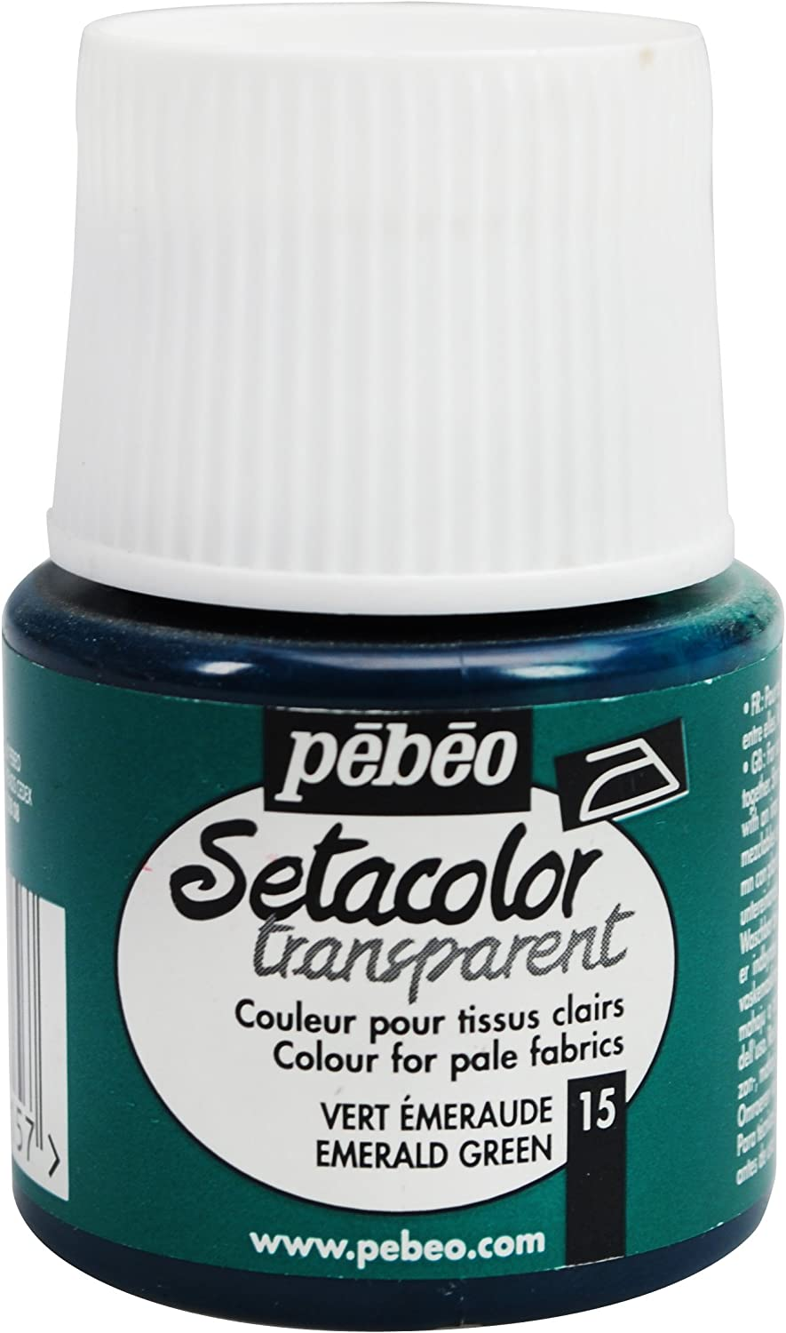 Pebeo Setacolor Light Fabrics 45-Milliliter 70% OFF Outlet Emeral Bottle Paint New Shipping Free