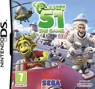 Planet 51 Game DS