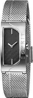 Esprit Womens Quartz Watch, Analog-Digital Display and Stainless Steel Strap, ES1L045M0025