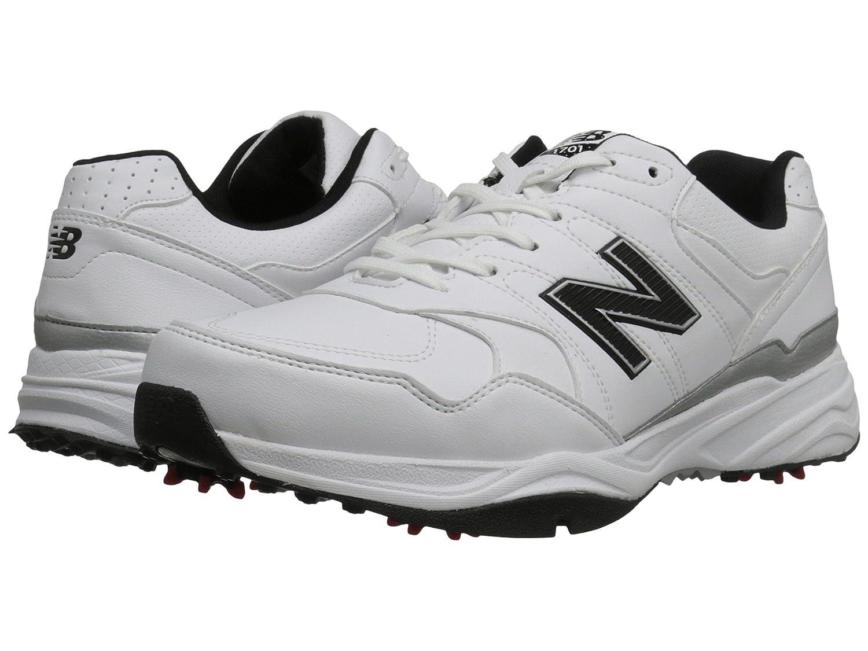 (ニューバランス) New Balance メンズゴルフシューズ?靴 NBG1701 White/Black 8 (26cm) 4E - Extra Wide