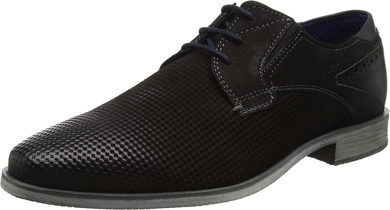 Bugatti city Mens-Lace-Up black 650499-1
