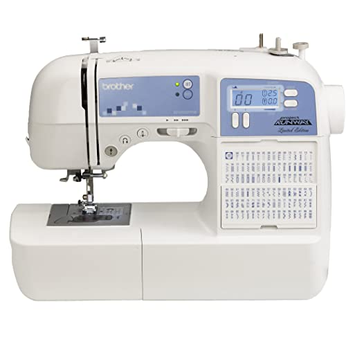 Brother XR9500PRW Project Runway Limited Edition Sewing Machine with 100 Built-in Stitches and Quilting