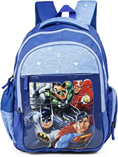 fdcb006843 HMI Original Licensed Justice League 'Heroes' 32 Ltrs Multi-Colour School  Backpack (