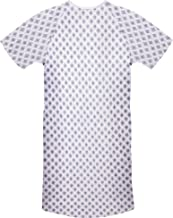 """Utopia Care 1 Pack Cotton Blend Hospital Gown, Back Tie, 45"""" Long & 61"""" Wide, Patient Gowns Comfortably Fits Sizes up to 2XL"""