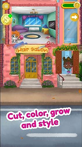 『Hair Salon: Cosplay Girls and Cute Pets - NO ADS』の5枚目の画像