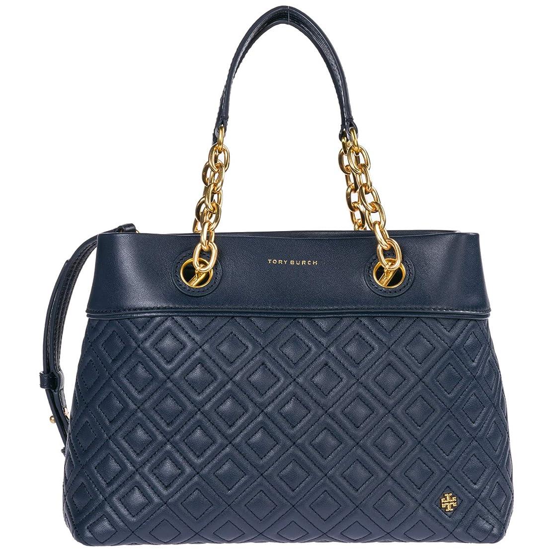 バーストコントロールウォーターフロントTory Burch Women's Small Fleming Leather Top-Handle Bag Tote
