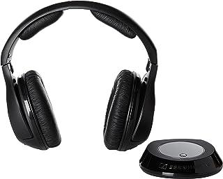 Sennheiser RS 160 - Auriculares de diadema cerrados inalámbricos (alcance efectivo de hasta 20 m
