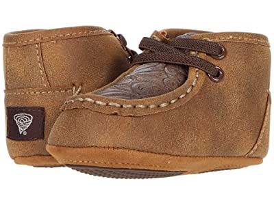 M&F Western Kids Baby Bucker Jed (Infant/Toddler) (Brown) Boys Shoes