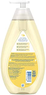 Johnson's Head-To-Toe Gentle Baby Wash & Shampoo, Tear-Free, Sulfate-Free & Hypoallergenic Bath Wash for Baby's Sensi...