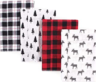 Unisex Baby Cotton Flannel Burp Cloths