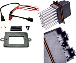 APDTY 5179985AA & 68052436AA Blower Motor Resistor Power Module & Wiring Harness Upgrade Kit For 1999-2004 Jeep Grand Cherokee w/ATC (Automatic Temperature Control; 5179985AA, 68052436AA)