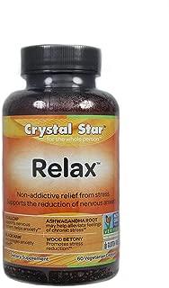Crystal Star Relax, 60 Vegetarian Capsules