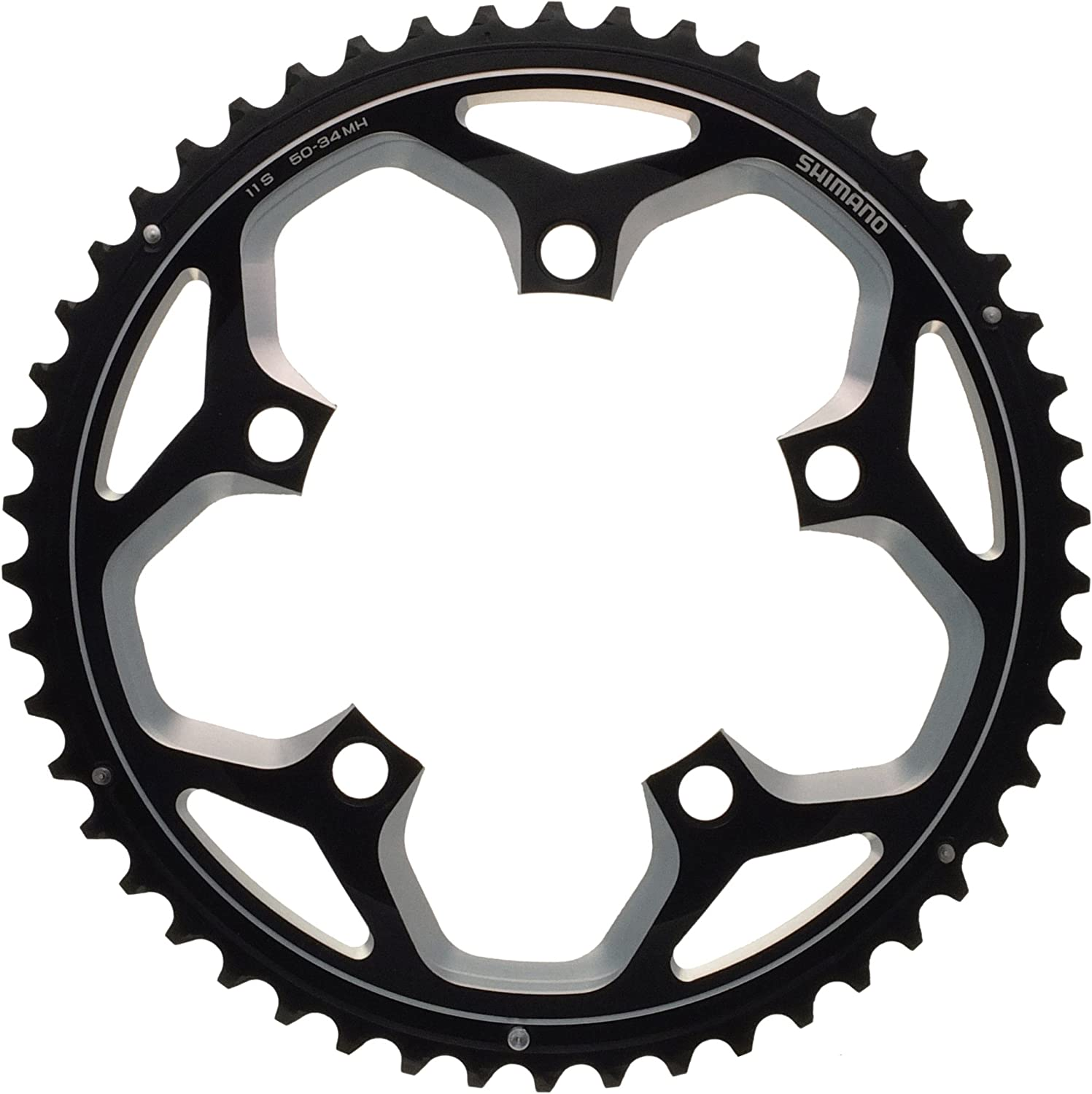 Shimano Spares FC-RS500 Gorgeous Ranking TOP6 Black Chainring 50T-MH