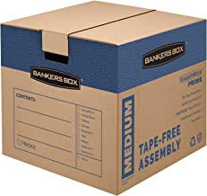 Bankers Box SmoothMove Prime Moving Boxes, Medium