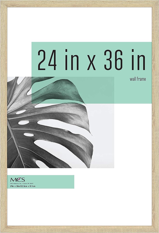 MCS Industries Studio Gallery Frames, 24x36 in, Natural Woodgrain